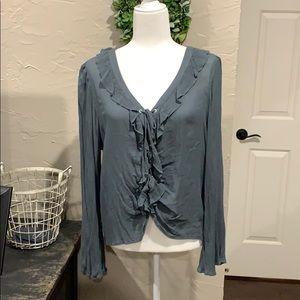 American Eagle boho blouse size XL